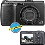 Ricoh GR Digital - Digital camera - compact - 8.1 Mpix - supported memory: MMC, SD ~ RICOH