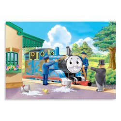 Keeping Thomas Clean 35-Piece Puzzle