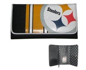 Pittsburgh Steelers Wallet Womens Clutch at SteelerMania