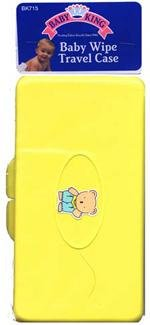 Baby King Wipes Travel Case Color May Very BK-715 - 1
