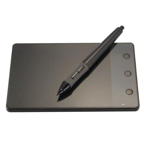 Tavoletta Grafica Digitale Tablet Grafico Nero USB 1,1 DC 5V