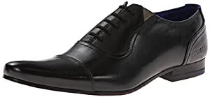 Ted Baker Men's Rogrr Oxford,Black Leather,9 M US