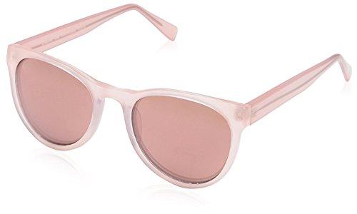 SOCIETY NEW YORK Women's Vintage Round Sunglasses, Rose, 50-20-140
