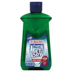 * Jet-Dry Rinse Agent, Green Apple Vinegar, 8.45 Oz Bottle front-591490