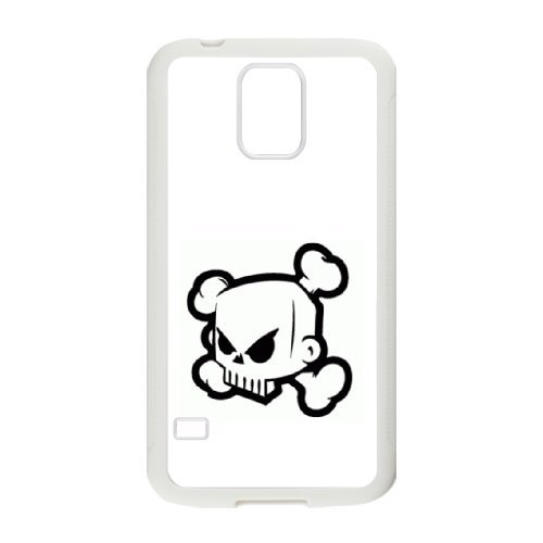 Custom personalized Case-Samsung Galaxy S5-Phone Case skull logo Design your own cell Phone Case skull logo