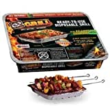 EZ Grill - Ready-To-Use Disposable Grill (Stand Included)- *Pack of 3*