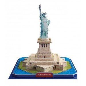 Statue of Liberty 3D Puzzle, 39 Pieces