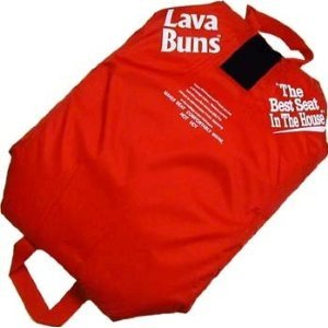 Red Heated Seat Cushion For Stadium Seats And Bleachers from Lava Buns