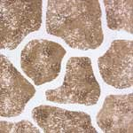 Stone Wall Patio and Wall Stencil with Paints - Stencil with Paints - Plastic