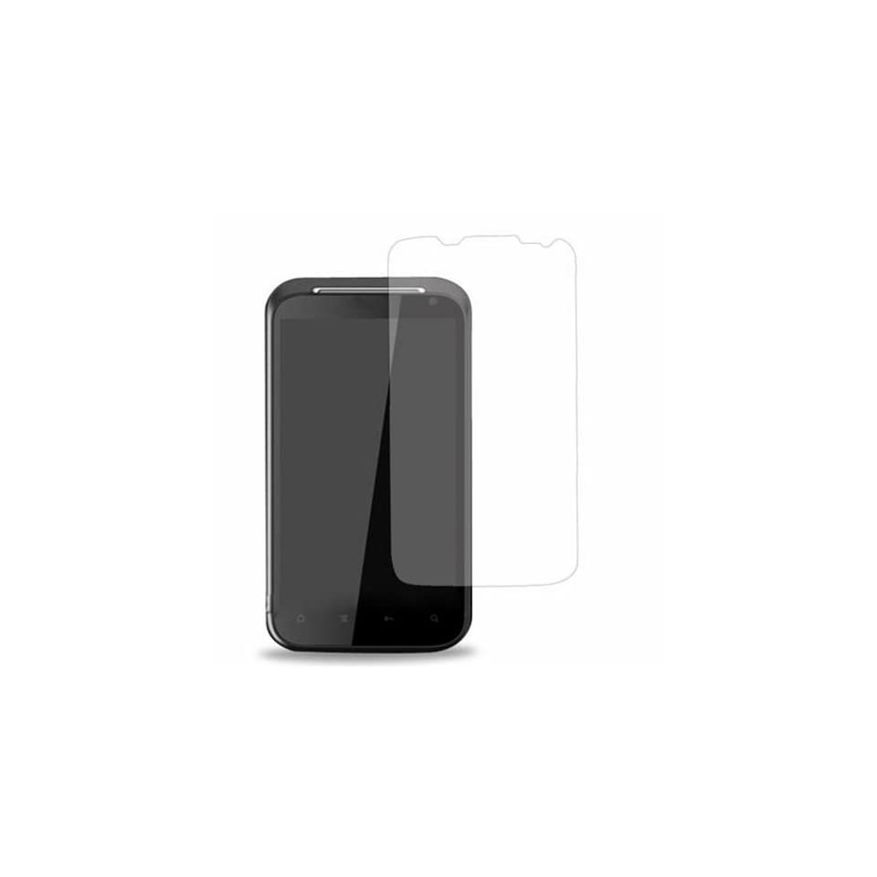 2 Pack of Anti Glare/Anti Fingerprint Screen Protection Kit for Verizon HTC Rezound 6425 in Ventev Retail Packaging