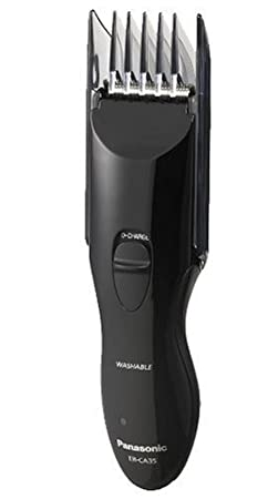 Panasonic ER-CA35-K Rechargeable Hair & Beard Trimmer, Wet / Dry Operation