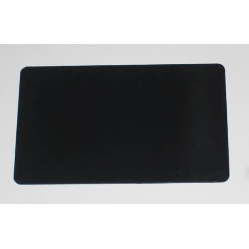 Amazon.com : 1000 Blank PVC Plastic Photo ID BLACK Credit Card 30Mil ...