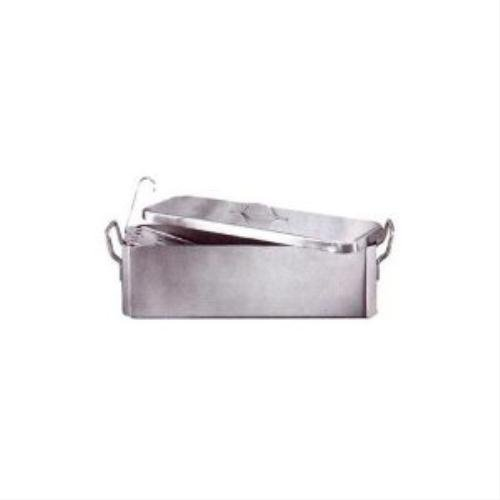Fish Kettle With Grid And Cover S/Steel