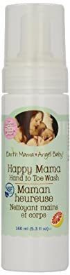 Earth Mama Angel Baby Happy Mama Hand to Toe Wash 160 ml