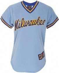 Milwaukee Brewers Throwback Vintage Cooperstown 1983 Jersey by Majestic