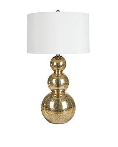 Surya Madden Table Lamp, Goldtone/Mercury Glass
