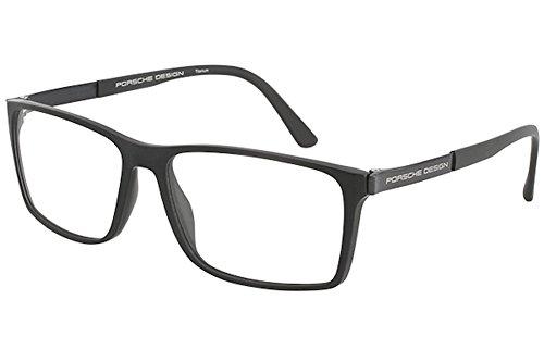 Porsche Design Men's Eyeglasses P'8260 P8260 A Gray Full Rim Optical Frame 56MM