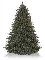 6.5′ Blue Spruce Unlit Artificial Christmas Tree