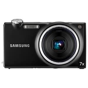Samsung TL240 – Digital camera – compact – 14.2 Mpix – optical zoom: 7 x – supported memory: microSD, microSDHC – black