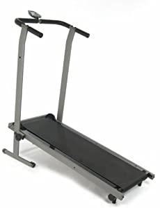 Stamina InMotion Manual Treadmill (Pewter Grey, Black) from Stamina