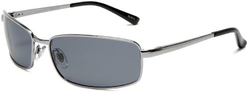Sunbelt Men's Neptune 190 Metal Sunglasses,Gunmetal