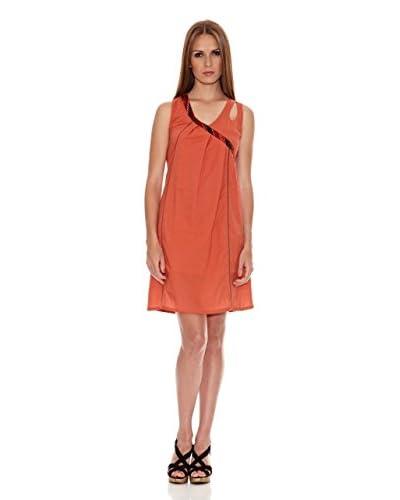 HHG Vestido Puka Naranja