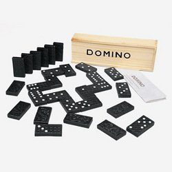 Wooden Domino Classic Game