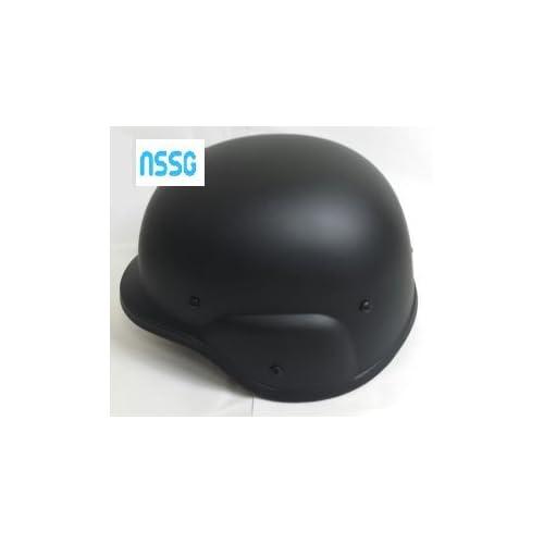 M88 タクティカル ヘルメット ブラック カバー無し と 緊急 ホイッスル セット 【NSSGオリジナル】サバイバル ゲーム サバゲー 装備 SWAT フリッツ タイプ 笛 ブラック カバー無し H010
