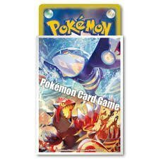 Japanese Pokemon XY Groudon & Kyogre Sleeves 32ct NEW!