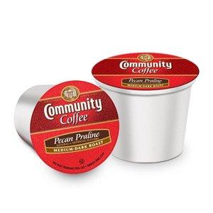 Community Coffee - Single Serve Capsules (K-Cup Compatible) - Pecan Praline - 12Ct Box