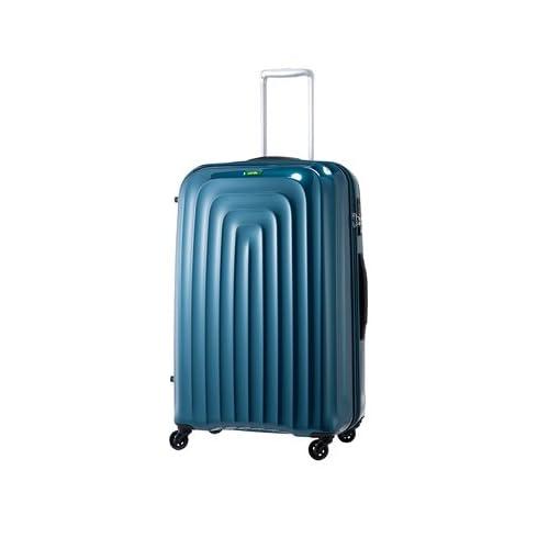 【amazonギフト券1,000円分プレゼント対象】 LojeL スーツケース 超軽量 大型 ロジェール Wave 【71cm】 LWZ1-Lエレクトリックブルー