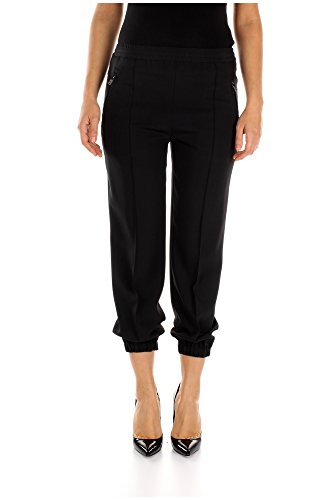22H614NERO-Prada-Pantalons-Femme-Viscose-Noir
