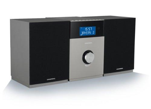 Grundig MS540 DAB+ Sistema Hi-Fi Micro, Nero/Antracite