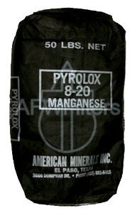 Pyrolox Filter Media 1/2 Cu. Ft. Bag Iron & Sulfur Media