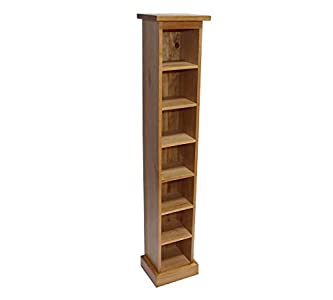 Buying Guide of  solid oak cd storage tower holds 105 cds