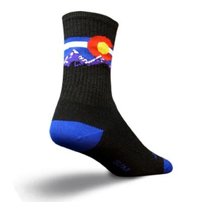 Buy Low Price SockGuy Wool Crew 6in Colorado MTN Cycling/Running Socks (B005GLHRXQ)