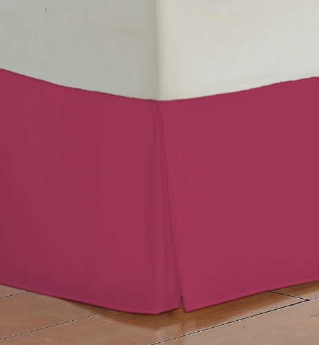 Hot Pink Bed Skirts front-1061392