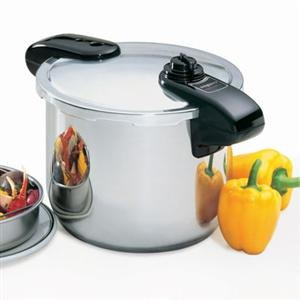 Presto Stainless Steel Pressure Cookers front-630729