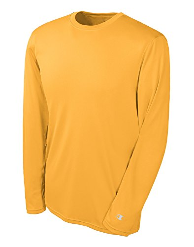 Champion Men's Double Dry Long Sleeve Tee