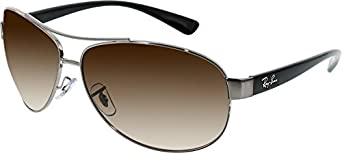 Ray-Ban 3386 004/13 Brown Gradient 3386 Aviator Sunglasses Lens Category 3 Size