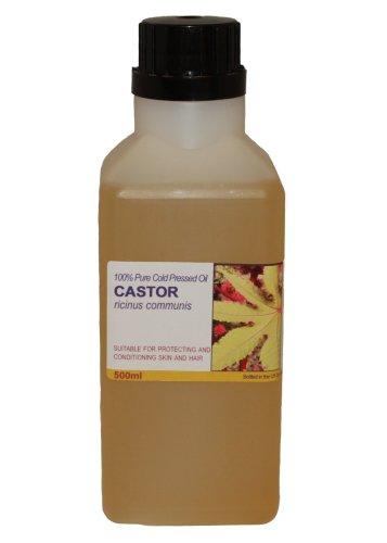 500ml Castor Oil - 100% Pure Cold Pressed