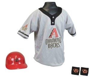 Arizona Diamondbacks Baseball Helmet And Jersey Set by Hall of Fame Memorabilia