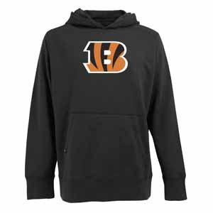 NFL Men's Cincinnati Bengals Signature Hooded Sweatshirt (Black, Large) Amazon.com