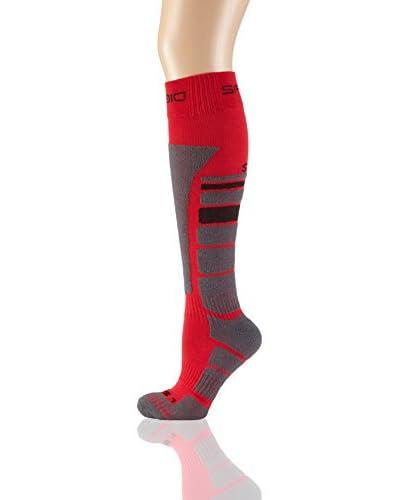 SPAIO ® Calzettoni  Socks Unisex Thermo Thermolite [Nero/Grigio/Arancione]