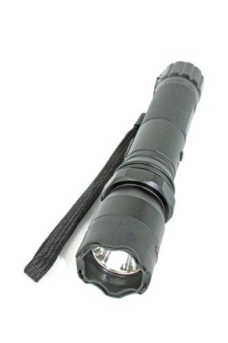 スタンガン+高輝度LEDライト  ★18650充電池付き★ 護身用品 護身用具 護身グッズ 防滴仕様  JSJ-1102