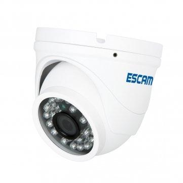 Caméra Pakhuis Escam QD520 Peashooter HD720p P2P Couverture IR de sécurité IP