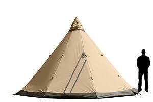 : Tentipi Safir 9 - (CP) Canvas Nordic Tipi Tent : Sports & Outdoors