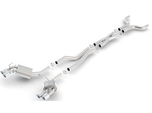 Borla 140493 Touring Cat-Back Exhaust System for Chevy Camaro ZL1