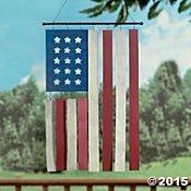 American Flag Wind Chimes