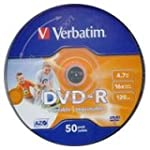Verbatim DVD-R 4.7GB Printable - Conf...
